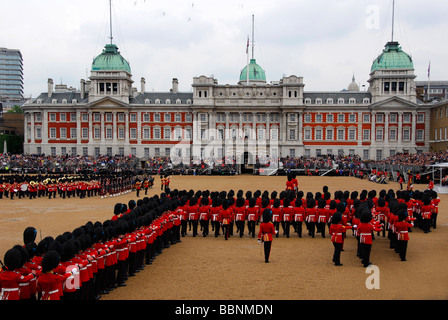 Trooping of the colour - Stock Photo