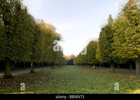 geography / travel, Germany, North-Rhine Westphalia, Düsseldorf, Benrath Palace, exterior view, Additional-Rights - Stock Photo
