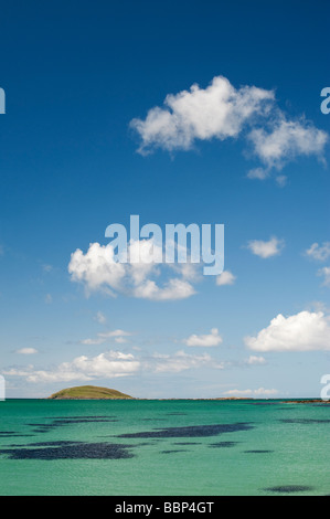 Lingeigh island off Eriskay, South Uist, Outer Hebrides, Scotland - Stock Photo