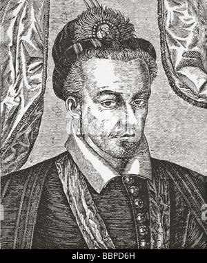 Henri III King of France 1551 1589 - Stock Photo