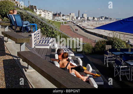 Hotel, Restaurant, Le Havre, Normandy, France Stock Photo: 51718462 ...