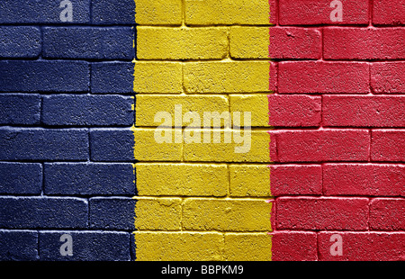 Flag of Chad - Stock Photo