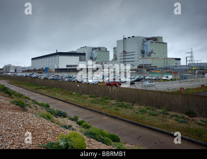 Dungeness nuclear power station Dungeness Kent England UK - Stock Photo