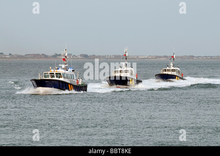 Southamptons Interceptor 55 Harbour Master Patrol Boat - Stock Photo