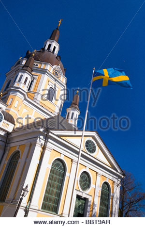 Katarina Kyrka (Church of Catherine),  Sodermalm, Stockholm, Sweden. - Stock Photo