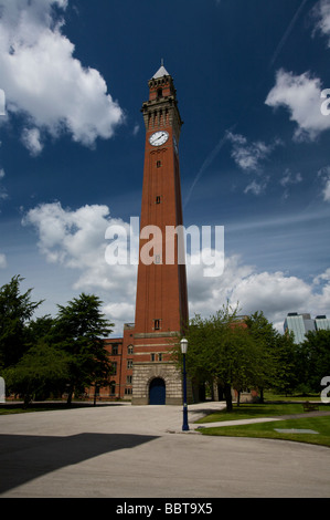 Joseph Chamberlain Memorial Clock Tower Birmingham University Edgbaston Birmingham West Midlands England UK - Stock Photo