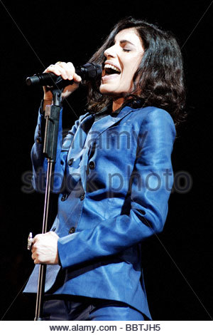 milano 2009, giorgia in concert - Stock Photo