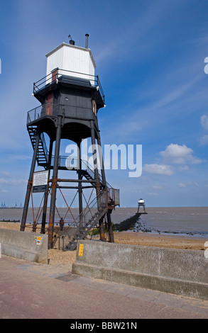 Dovercourt Lighthouse, Dovercourt, Essex, england. - Stock Photo