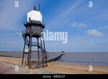Dovercourt Lighthouse, Dovercourt, Essex, england. - Stock Photo