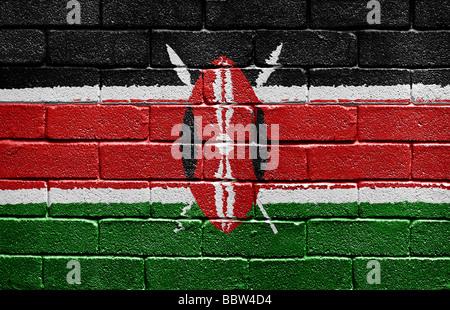 Flag of Kenya - Stock Photo