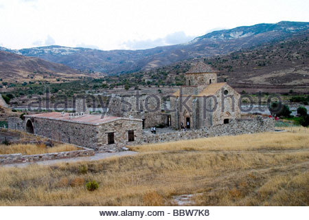 europe, cyprus, kelokedara village,  panagia tou sinti monastery - Stock Photo