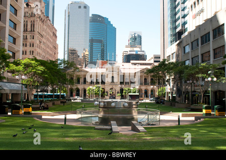 Post Office Square Brisbane Queensland Australia - Stock Photo