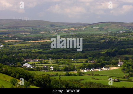the village of gortin in the sperrin mountains county tyrone northern ireland uk - Stock Photo