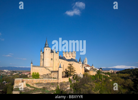 Segovia Castle, Segovia, Spain - Stock Photo