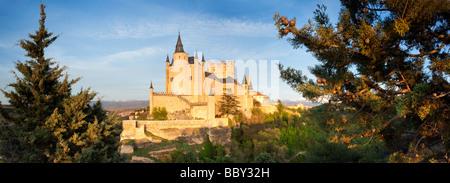 Segovia Castle, Segovia, Spain - Stock Photo