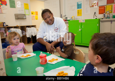 'child care' 'day care' childcare nursery - Stock Photo