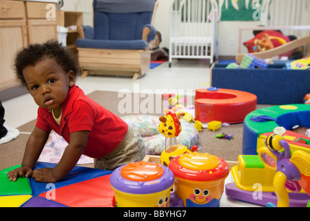 'child care' 'day care' childcare nursery - Stock Photo