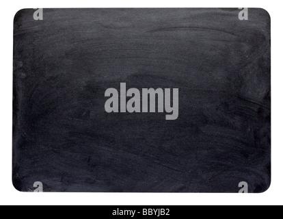 Blank blackboard cut out - Stock Photo