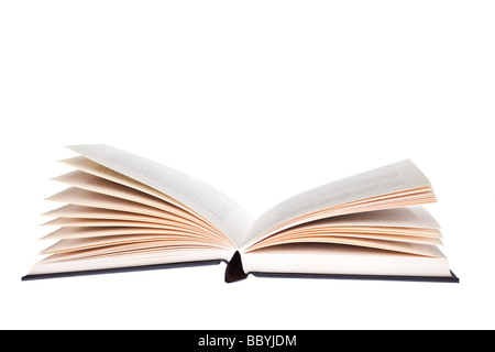 Open book cut out - Stock Photo
