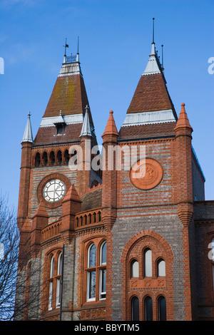The Town Hall, Friar Street, Reading, Berkshire, United Kingdom, Europe - Stock Photo
