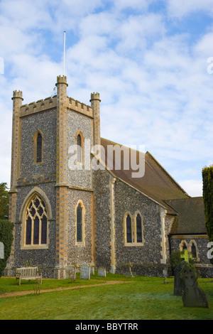 Remenham St Nicholas Church, Remenham, Oxfordshire, England, United Kingdom, Europe - Stock Photo