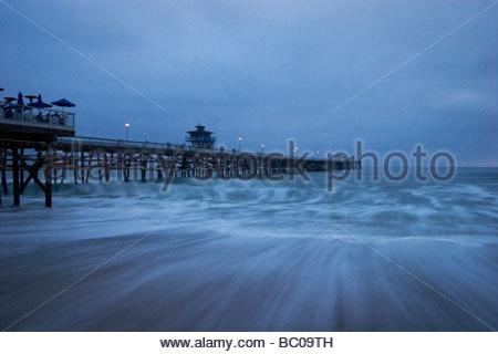 San Clemente Pier California - Stock Photo