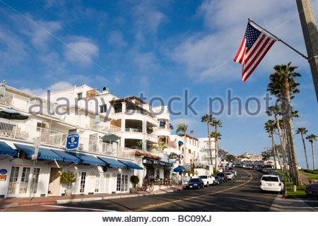 Avenida Victoria San Clemente California - Stock Photo