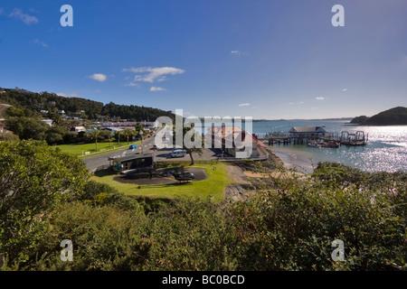 Paihia, Bay of Islands, Northland, New Zealand - Stock Photo