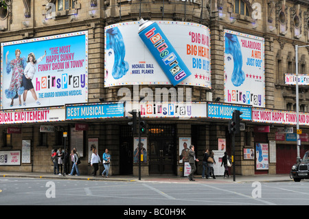'Hair Spray the musical' at Shaftesbury theatre Covent Garden London June 2009 - Stock Photo