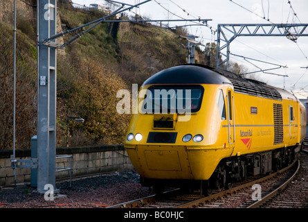 Network Rail New Measurement Train HST near Long Buckby