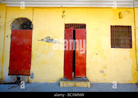 Haiti Nord Cap Haitien doors and windows. - Stock Photo & Haiti Nord Cap Haitien Doors and Windows Stock Photo Royalty ... pezcame.com