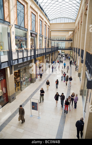 Grand Arcade shopping mall, Cambridge, UK - Stock Photo