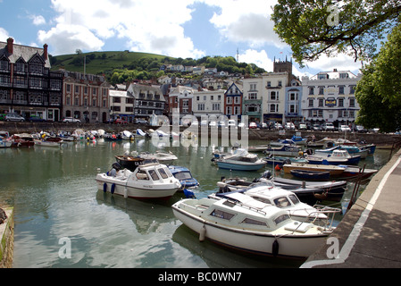 The Quay, Dartmouth, Devon, UK - Stock Photo