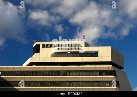 Main building Airport Otto Lilienthal Berlin Tegel Germany - Stock Photo