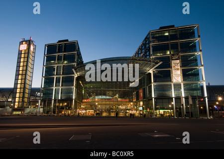 Berlin Hauptbahnhof - Stock Photo