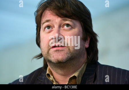 Derek Draper psychotherapist and Labour Party political activist pictured at Hay Festival 2009  - Stock Photo