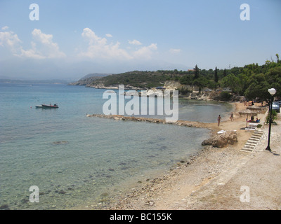 Greece West Crete Marathi Beach Akrotiri district of Chania - Stock Photo