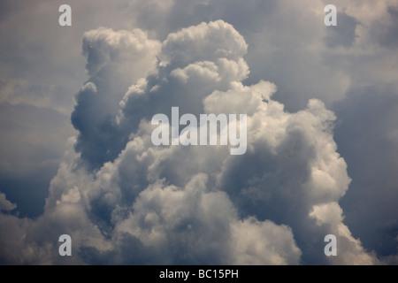 Cumulonimbus clouds - Stock Photo