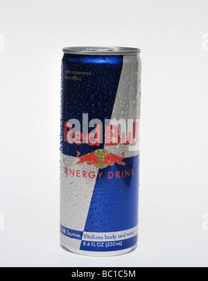 Red Bull Energy Drink - Stock Photo