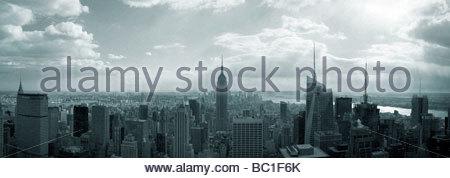 NYC Panorama - Stock Photo
