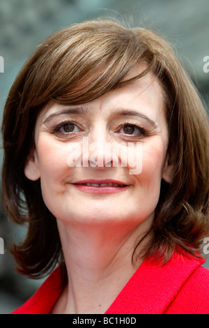 Cherie Blair nee Booth wife of former British Prime Minister, Tony Blair - Stock Photo