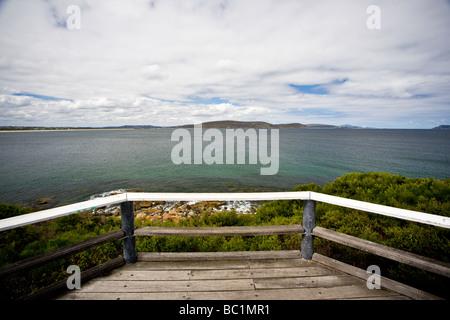 Ellen Cove Boardwalk Albany South West Western Australia WA - Stock Photo