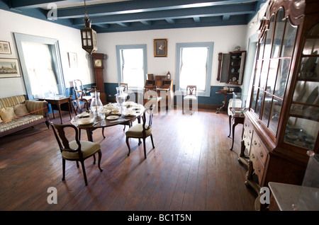 Sint Eustatius Oranjestad Historical museum - Stock Photo