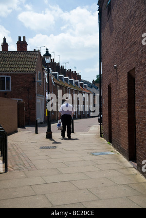 The Market Town Of Beverley in East Yorkshire - Stock Photo
