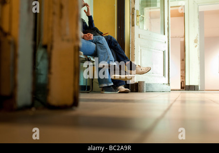 Employment center - Stock Photo