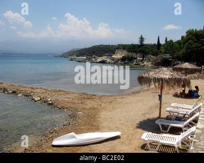 Greece West Crete Marathi Beach Akrotiri district of Chania - Stock Photo