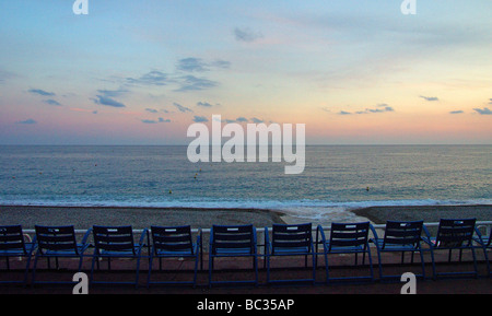 Nice (06) : 'La Baie des Anges' (Bay of the Angels) - Stock Photo