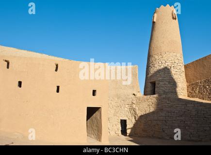 Domat Al Jadal Al Jauf province the Oman Mosque - Stock Photo