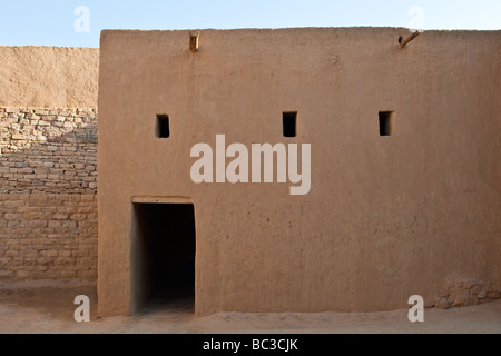 Domat Al Jadal Al Jauf province the old city adiacent to the fortress - Stock Photo