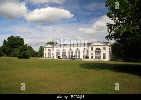 The Orangery Restaurant, The Royal Botanic Gardens, Kew, Surrey, England. - Stock Photo